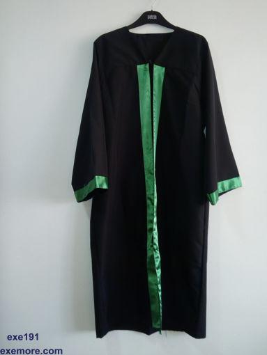روب تخرج  اسود بستان - Graduation gown