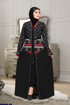Picture of Silk abaya in3D.