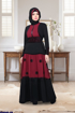 Picture of Laser silk abaya