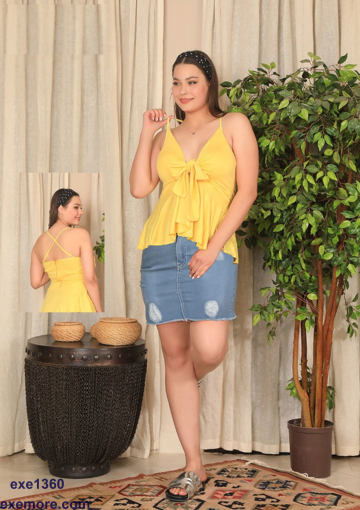 Wholesale  home wear set skirt and blouse