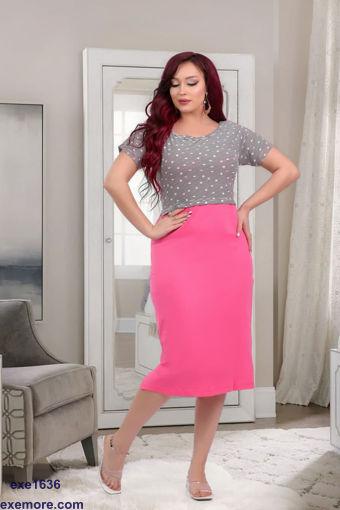Wholesale  Fuchsia homewear dress