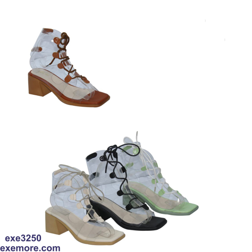 Picture of Transparent strap sandal