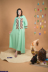 Picture of cotton abaya
