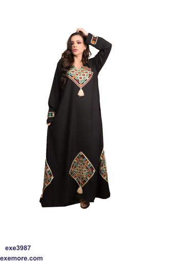 Picture of jacquard ABAYA