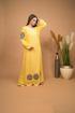 Picture of plain fabran abaya