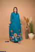 Picture of the lady abaya