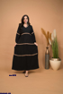 Picture of abaya with lines