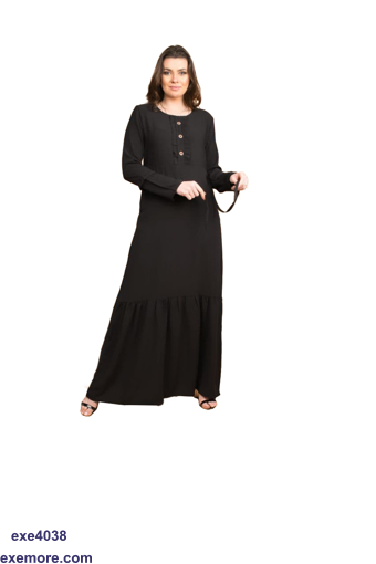 Picture of abaya cotton fabric