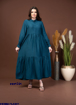 Picture of abaya with colors