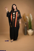 Picture of abaya with circles