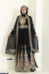 Picture of Abaya Chiffon and tulle Scarves