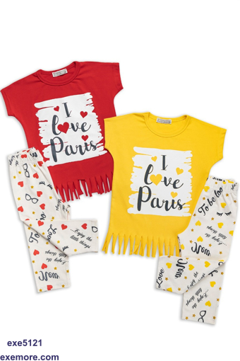 Wholesale  I love Paris pajama