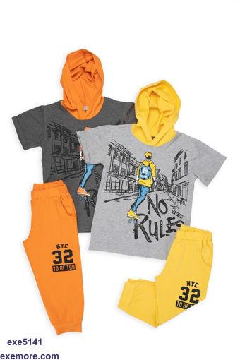 Wholesale  boys set with cap show