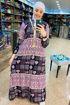 Wholesale  mottled abaya