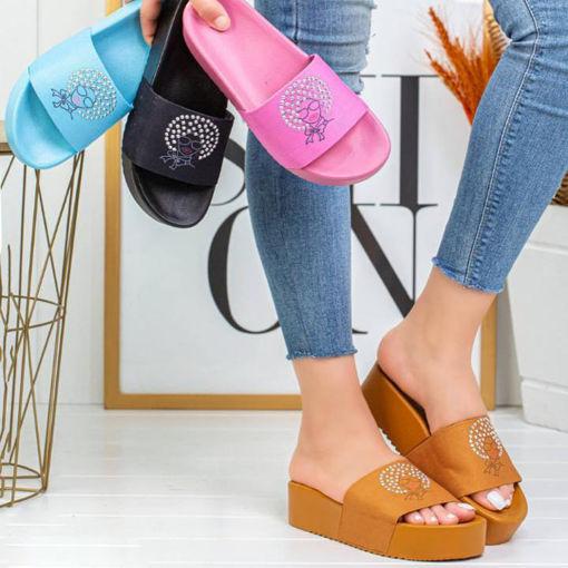Wholesale  strass slipper