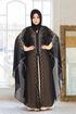 Wholesale  abaya chiffon with vison