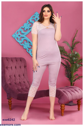 Wholesale  pajama with dantel