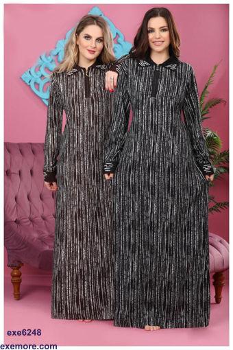 Wholesale  striped jilbab