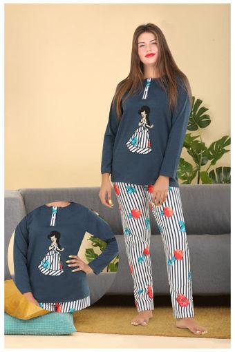 Wholesale  teal girly elegant pajamas