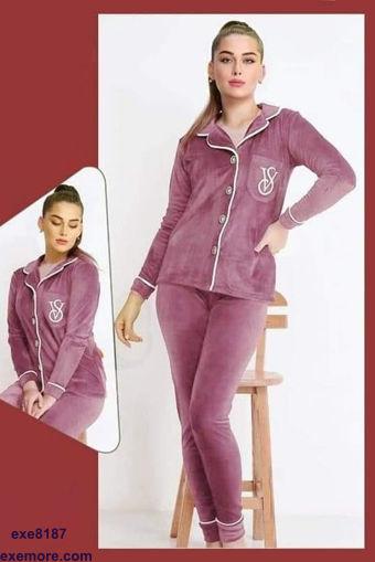 Wholesale  Velvet chic  pajama