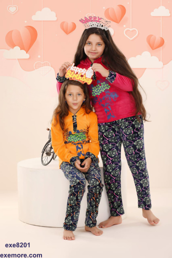 Wholesale  chic little girly winter pajamas for home