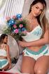 Wholesale  two pieces soft lycra lingerie