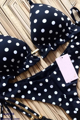 Wholesale  dotted soft lycra lingerie