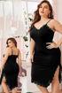 Wholesale  big size girly long lingerie