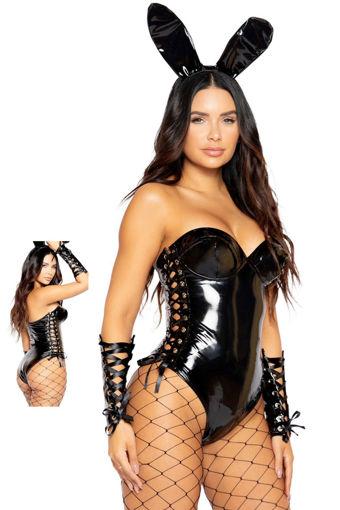 Wholesale  Leather lingerie set
