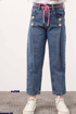 Wholesale  girly wide jeans pants 6-10