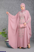 Wholesale  Flowered luxury abaya