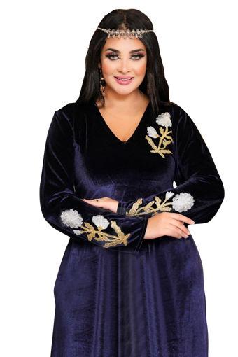 Wholesale  winter velvet jilbab