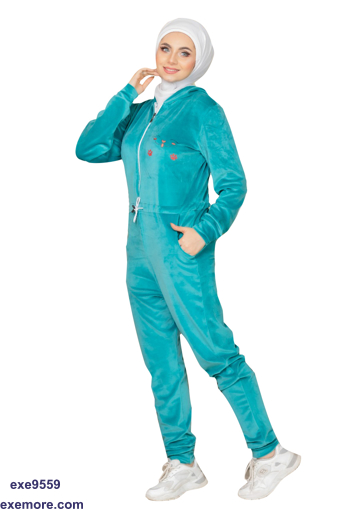 Wholesale  salopette velvet pajama