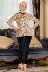Wholesale  velvet tiger pajama (big size)