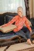Wholesale  velvet butterfly pajama (big size)