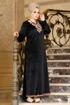 Wholesale  chic velvet abaya for girls