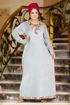 Wholesale  elegant velvet abaya for girls (big size)