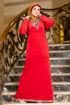 Wholesale  elegant velvet abaya for girls
