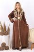 Wholesale  girl's winter elegant abaya