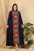 Wholesale  Beautiful velvet arabian abaya