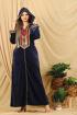 Wholesale  Capuche velvet abaya