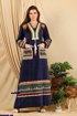 Wholesale  Amaranth abaya with elegant pockets