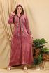 Wholesale  Long unique velvet abaya