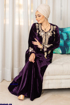 Wholesale  floral embroidered abaya