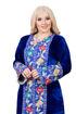 Wholesale  floral velvet jilbab