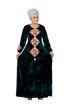 Wholesale  arabian embroidered jilbab