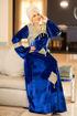 Wholesale  arabian style velvet jilbab