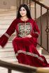 Wholesale  bedouin style velvet abaya