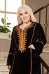 Wholesale  feminine velvet abaya