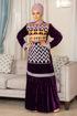 Wholesale  luxury velvet abayaarabic